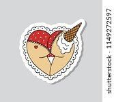 ass illustration traditional... | Shutterstock .eps vector #1149272597