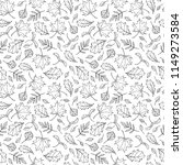 seamless endless pattern of... | Shutterstock .eps vector #1149273584