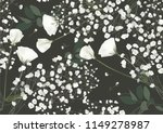 floral seamless pattern. small... | Shutterstock .eps vector #1149278987