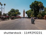 marrakesh  morocco   july 25th... | Shutterstock . vector #1149293231
