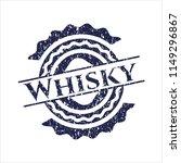 blue whisky distressed grunge... | Shutterstock .eps vector #1149296867
