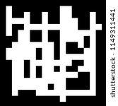 pixel background. abstract... | Shutterstock . vector #1149311441