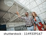 low angle portrait of outgoing... | Shutterstock . vector #1149339167