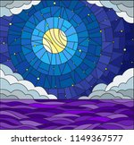 illustration in stained glass... | Shutterstock .eps vector #1149367577