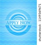 apply now light blue water wave ... | Shutterstock .eps vector #1149369671