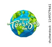 world tourism day logo vector... | Shutterstock .eps vector #1149379661