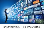 video archives concept. | Shutterstock . vector #1149399851