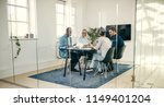 group of diverse young... | Shutterstock . vector #1149401204