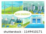 flat eco energy concept with... | Shutterstock .eps vector #1149410171