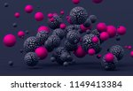 abstract 3d rendering of... | Shutterstock . vector #1149413384