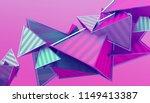 abstract 3d rendering of... | Shutterstock . vector #1149413387