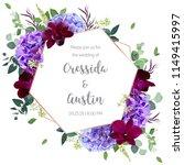 floral geometric vector design... | Shutterstock .eps vector #1149415997