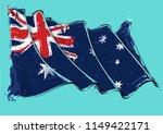 vector grange illustration of... | Shutterstock .eps vector #1149422171