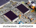 electronic circuit board close... | Shutterstock . vector #1149426434