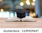 black graduated tassel cap... | Shutterstock . vector #1149429647