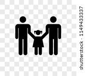 men couple with a daughter... | Shutterstock .eps vector #1149433337
