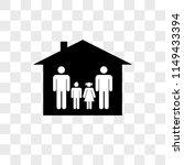 family group of two men one son ... | Shutterstock .eps vector #1149433394