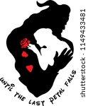 until the last petal falls cool ... | Shutterstock .eps vector #1149433481