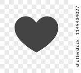 heart vector icon on...
