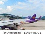 phuket international airport ... | Shutterstock . vector #1149440771
