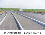 construction site for a new road | Shutterstock . vector #1149446741
