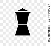 coffee maker vector icon on... | Shutterstock .eps vector #1149449717
