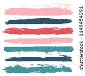 brush strokes set backgrounds.... | Shutterstock .eps vector #1149454391