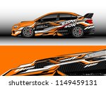 car wrap design vector  truck... | Shutterstock .eps vector #1149459131