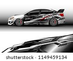 car wrap design vector  truck...   Shutterstock .eps vector #1149459134