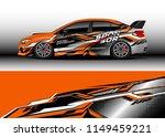 car wrap design vector  truck... | Shutterstock .eps vector #1149459221