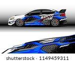car wrap design vector  truck... | Shutterstock .eps vector #1149459311