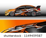 car wrap design vector  truck... | Shutterstock .eps vector #1149459587
