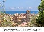 view of malgrat del mar  spain | Shutterstock . vector #1149489374