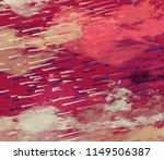 contemporary art. hand made art.... | Shutterstock . vector #1149506387