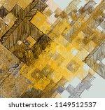 contemporary art. hand made art.... | Shutterstock . vector #1149512537