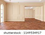 empty modern classic beige... | Shutterstock . vector #1149534917