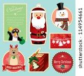 christmas decorations element 1   Shutterstock .eps vector #114954661
