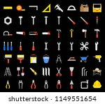 carpenter  handyman tool and... | Shutterstock .eps vector #1149551654