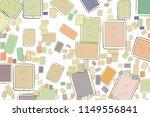 handphone or mobilephone... | Shutterstock .eps vector #1149556841