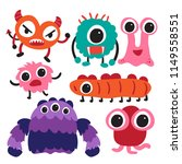monster character collection...