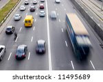 traffic with motion blur | Shutterstock . vector #11495689