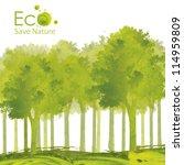 illustration environmentally... | Shutterstock . vector #114959809