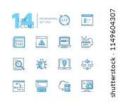 programming   modern thin line... | Shutterstock .eps vector #1149604307