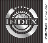 index silvery badge | Shutterstock .eps vector #1149610064