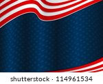 fourth of july background... | Shutterstock .eps vector #114961534