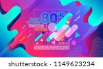 Stock vector colorful geometric s background retro alphabet font vintage alphabet vector s s old 1149623234