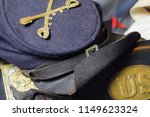 an old uniform cap from the... | Shutterstock . vector #1149623324