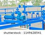 construction work  valve system ... | Shutterstock . vector #1149628541