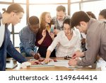 design agency. creative team... | Shutterstock . vector #1149644414