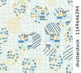 seamless abstract pattern... | Shutterstock .eps vector #1149646394